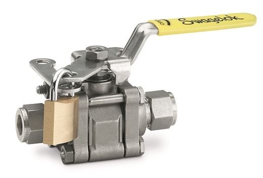 Swagelok 60 Series Valve with Lockable Handle